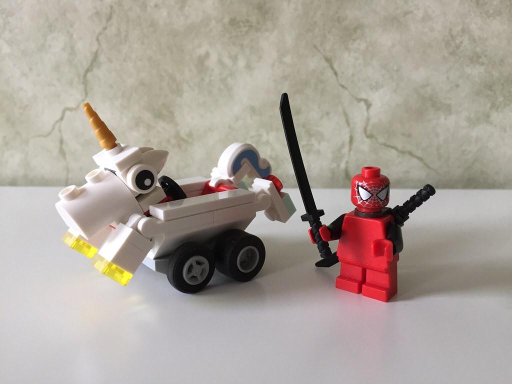 Mighty Micros - Deadpool's Unicorn
