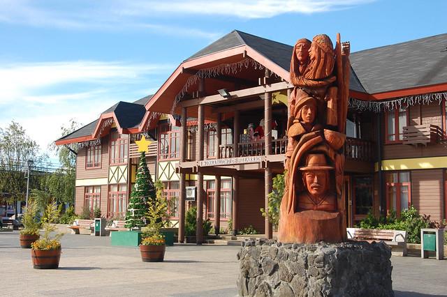 Municipalidad, City of Villarica, Chile