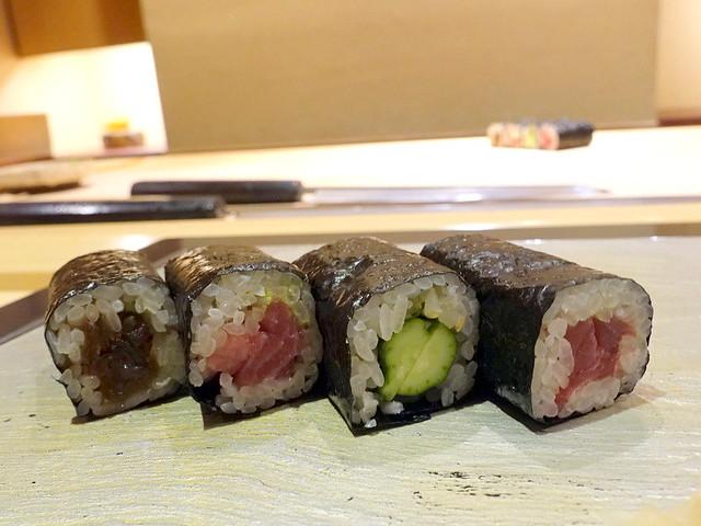 Sushi Iwa Ginza- Sushi rolls-001