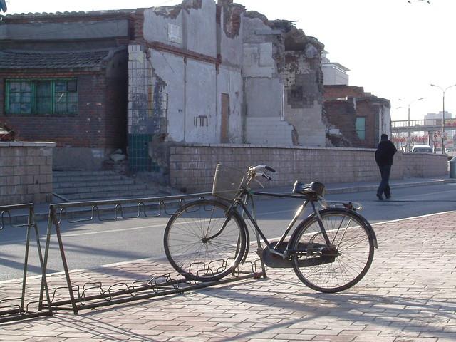 Vélo, vieux quartiers