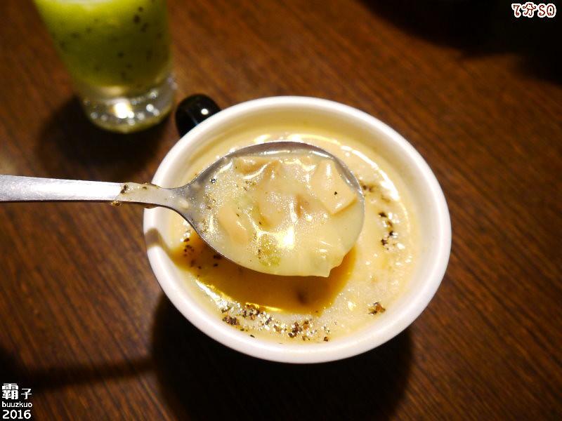 25704097702 7122be6c0d b - 7分SO美式廚房(朝富店),最愛的是美式蛋捲,早餐還有附上一杯滿滿果肉的奇異果汁。