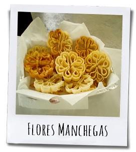 Een lekker krokante zoetigheid uit Castilla la Mancha in de vorm van een bloem
