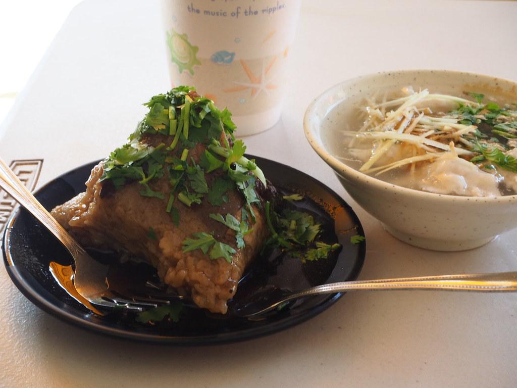 圓環頂菜粽肉粽で食べたもの