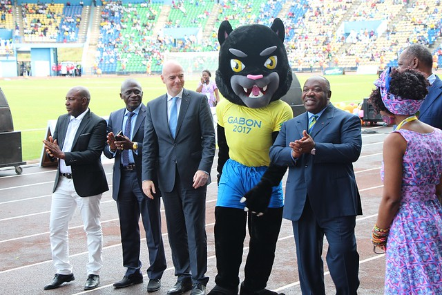 Gabon AFCON 2017 Official Mascot 'Samba'