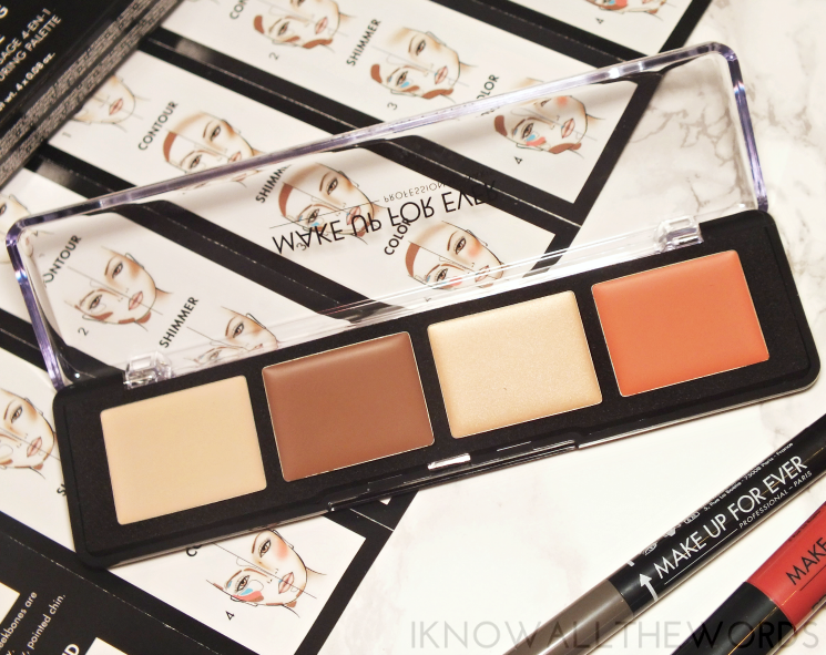 Make Up For Ever Pro Sculpting Palette 20 (2)