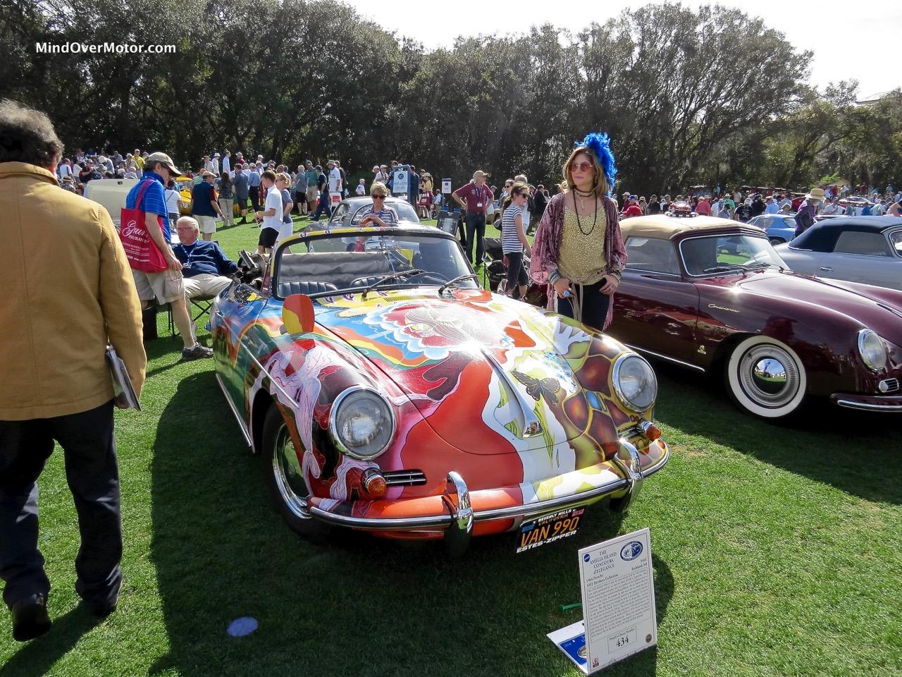 Janis Joplin Porsche 356C Front