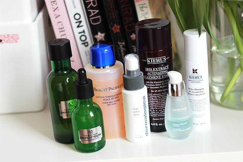 Winter Skin Care - Toners Essences Serums