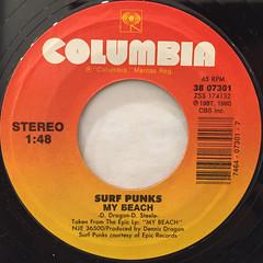 PEE-WEE HERMAN:SURFIN' BIRD(LABEL SIDE-B)