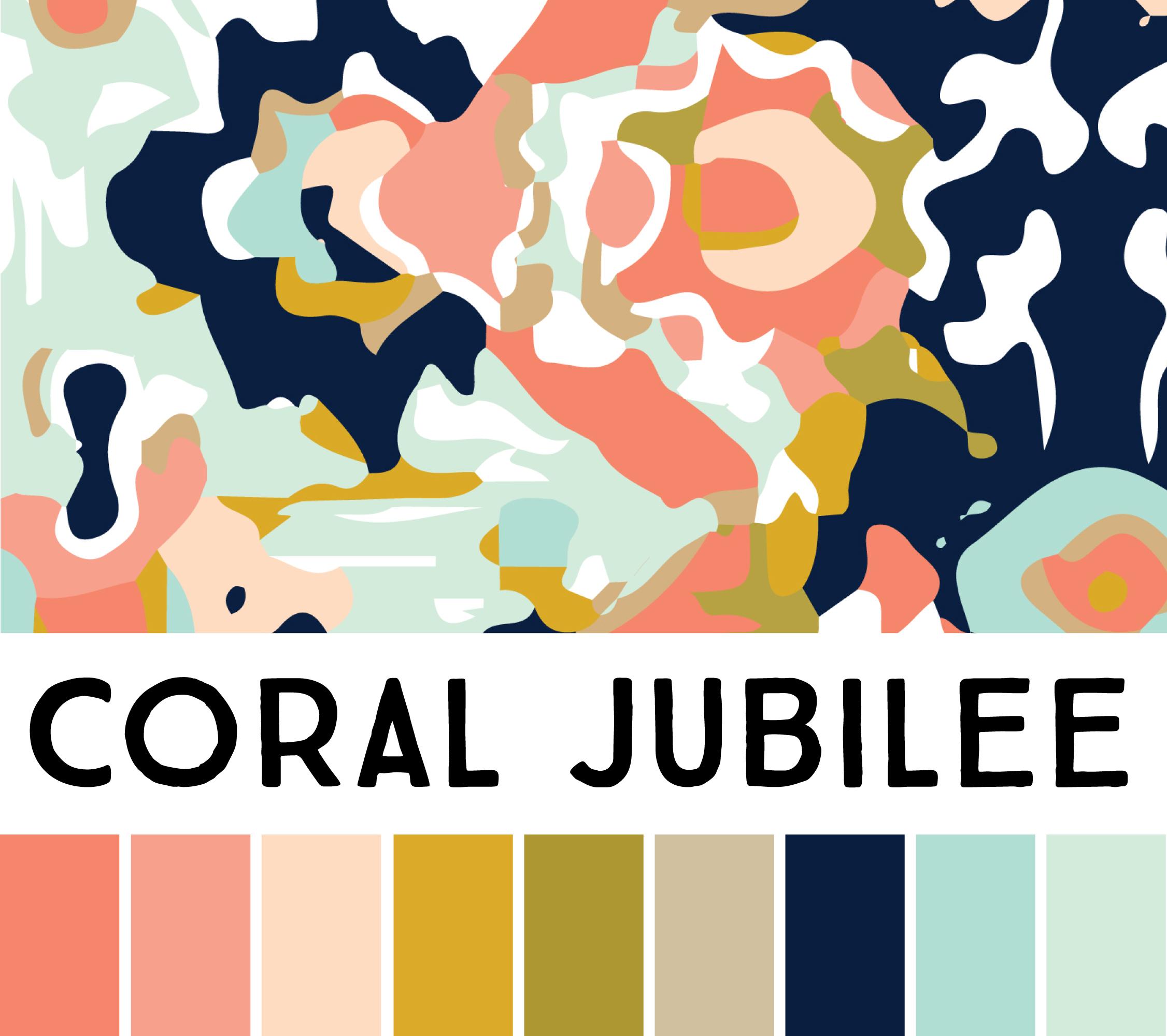 Coral Jubilee Wallpaper