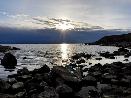sunset finland island helsinki dusk s suomenlinna suo