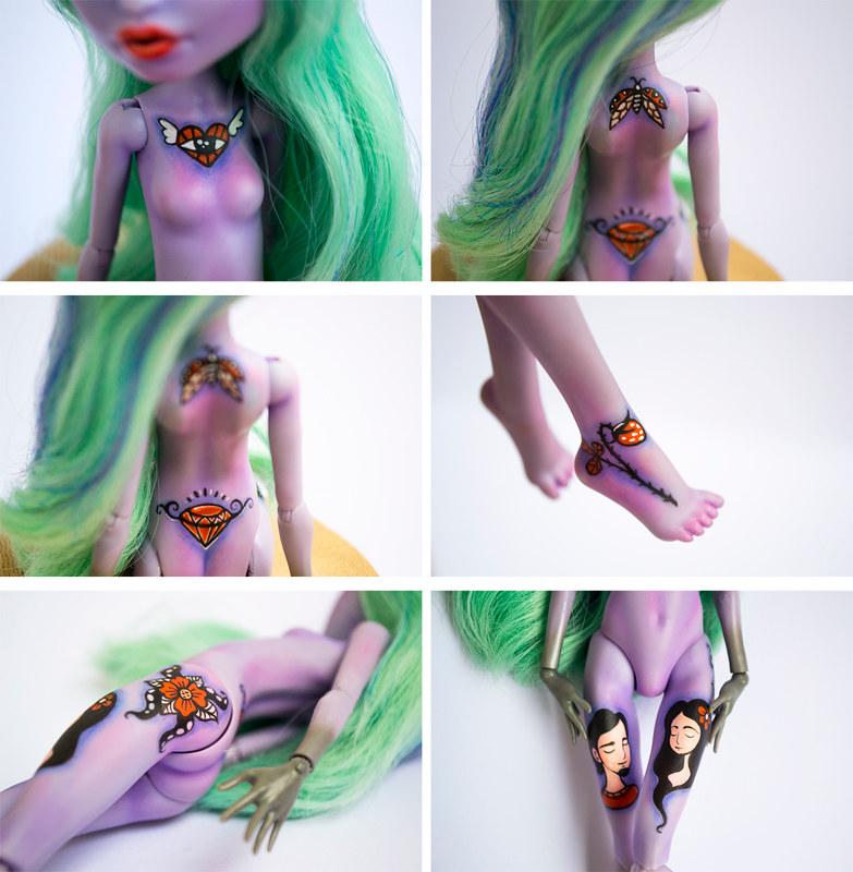 Anna Maria - OOAK Monster High Doll Twyla - Repaint Art Doll - Custom Monster Hig