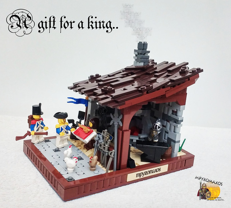 [Brethren of the Brick Seas]: A Gift For A King.. 25979985553_9023c01725_c