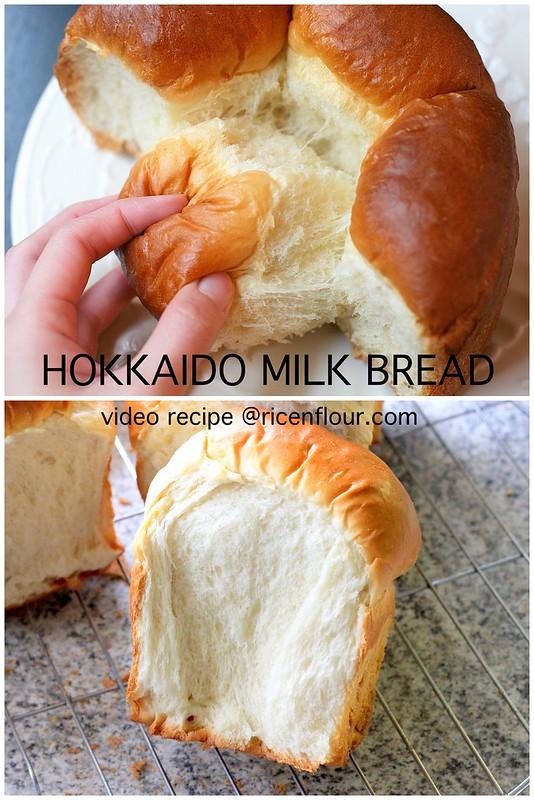 How To Make Hokkaido Milk Bread Recipe With Video Rice
