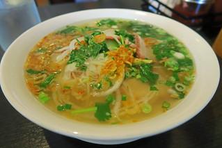 Dumpling Egg Noodle Soup