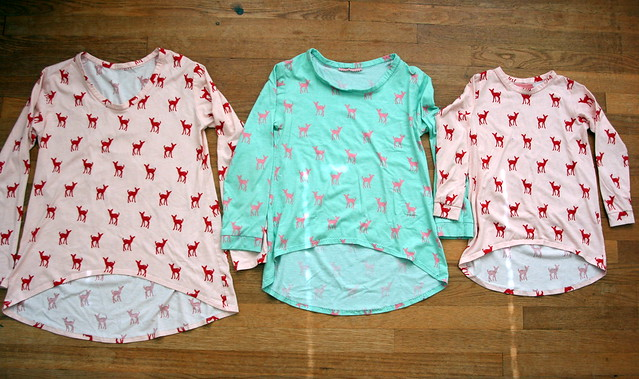 Megan Nielsen Briar and Mini Briar Tees