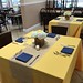 Wedding menu tasting tables