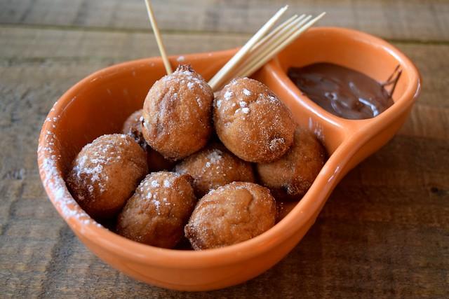 Nutella Doughnut Balls at Cabana, Covent Garden | www.rachelphipps.com @rachelphipps