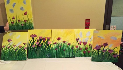 Paint Nite Red Zone Madison October