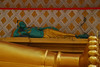 Reclining Buddha and Vishnu