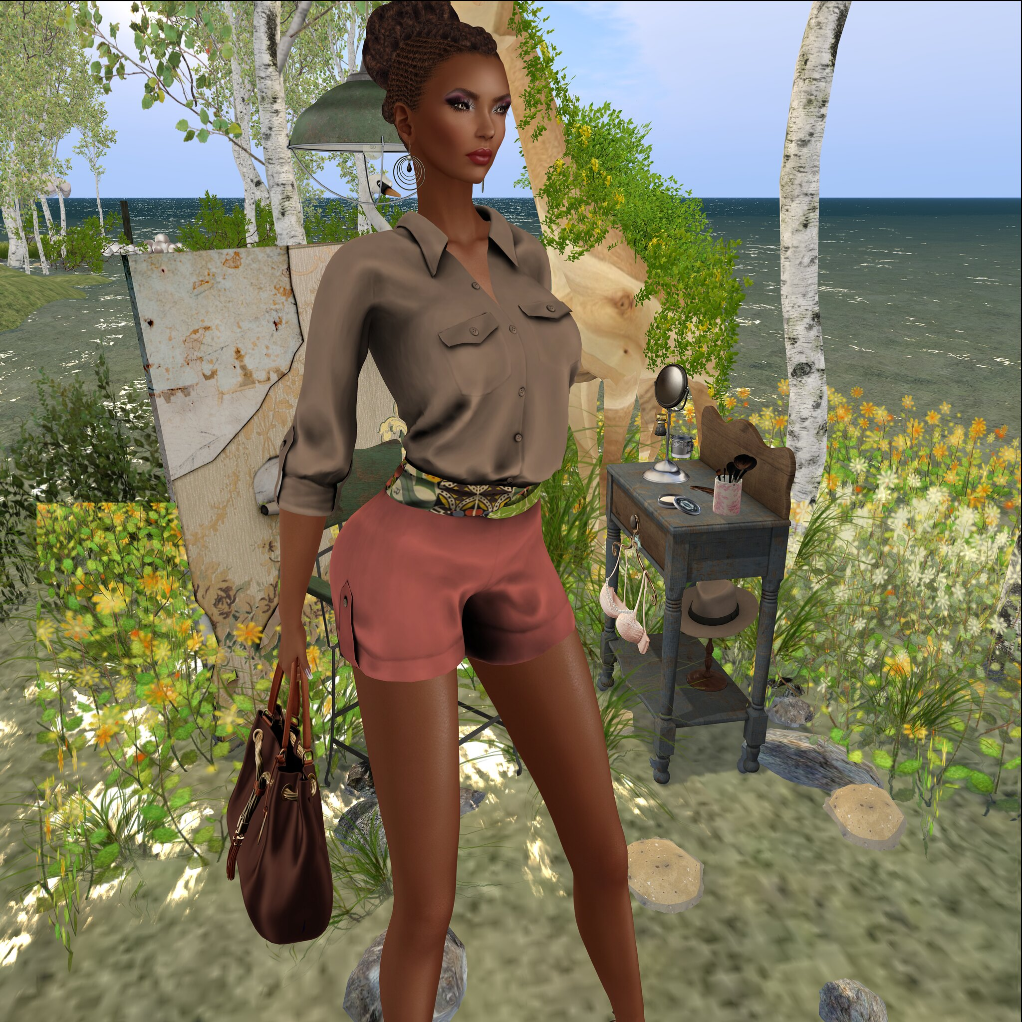 BLAC LABEL @Designer Showcase -Sarhara Romper & LEGENDAIRE ANITTA BAG