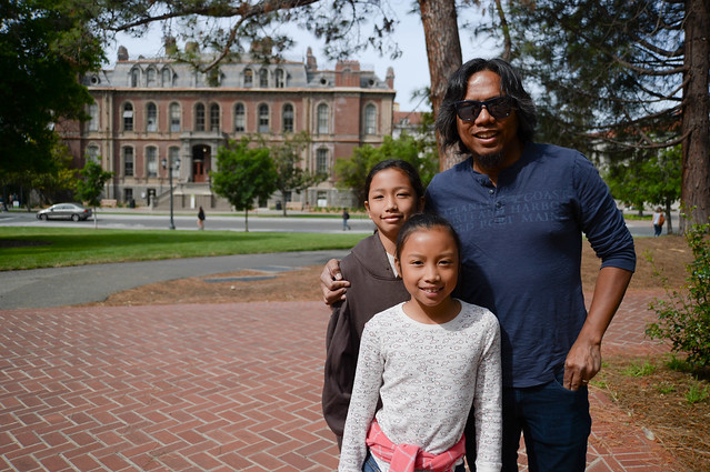 imo & the girls, UC berkeley campus