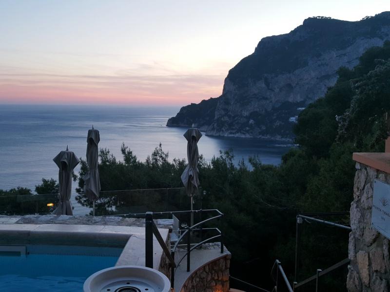 Capri Sunset Punta Tragara