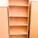 New beech laminate bookcase