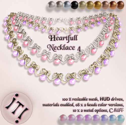 !IT! - Heartfull Necklace 4 Image