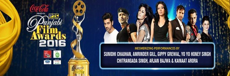 PTC Punjabi Film Awards 2016 Full Show Live, Winners List