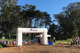 Presidio Trail Run - Finish
