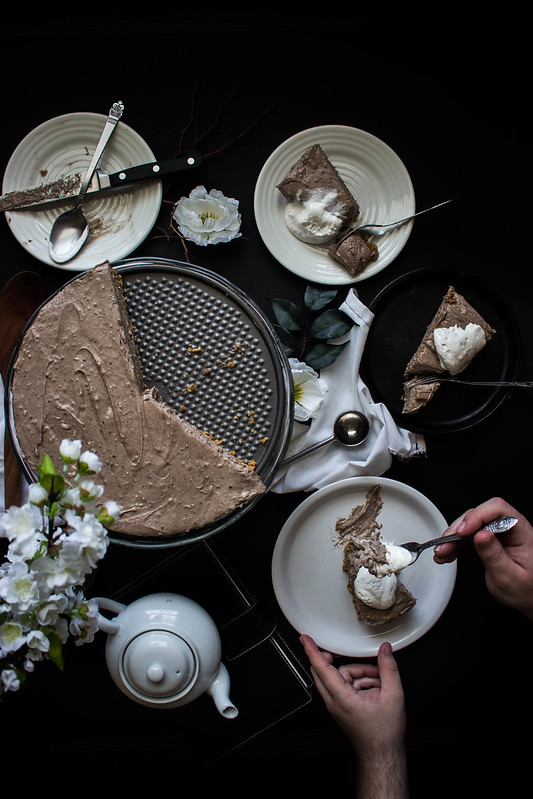 No-Bake S'mores Cookie Butter Cheesecake // TermiNatetor Kitchen