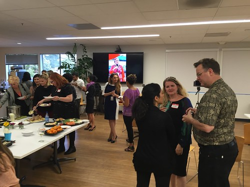TechWomen Delegation event April 2016