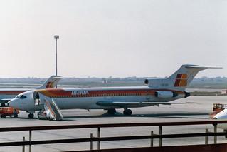 "Iberia Boeing 727-256/Adv EC-CFI ""Carinena"""