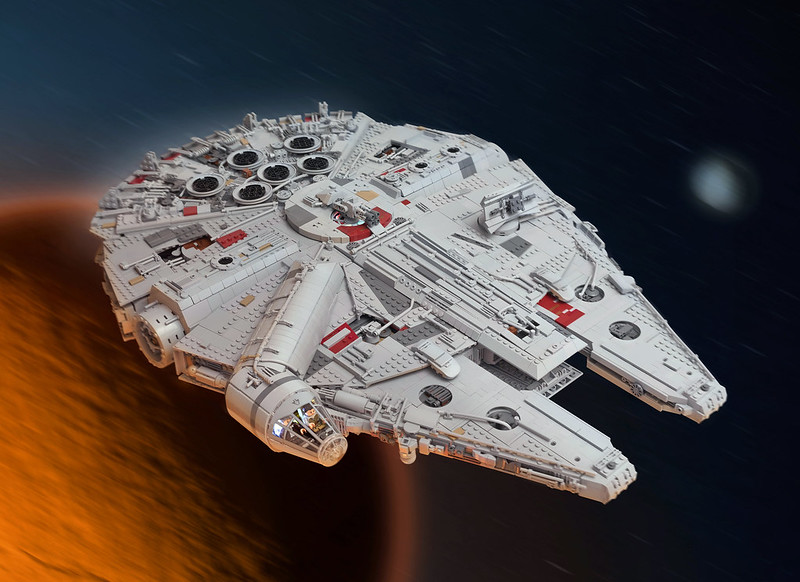 Millennium Falcon (Starwars VII)