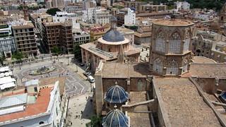 Image of Torre del Miguelete. tower valencia cathedral plazadelavirgen labasílicadelavirgendelosdesamparados latorredelmiguelete