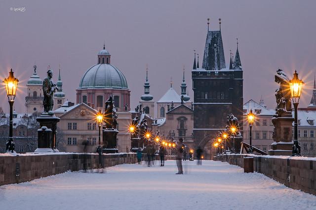 Winter tale in Prague