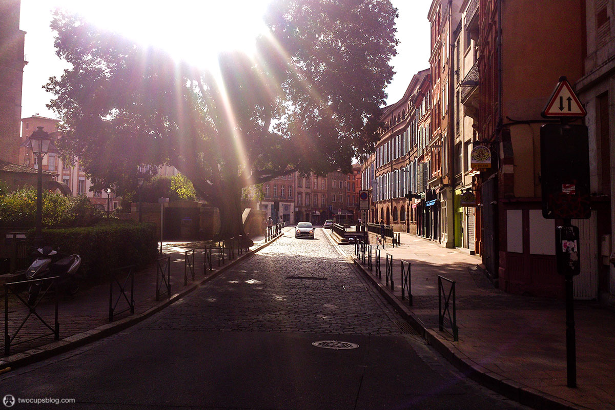 A sunny day in Toulouse