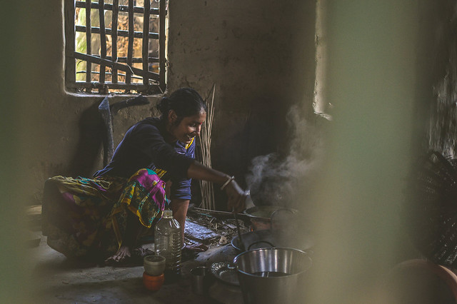 Typical Housewife of Rural Bangladesh
