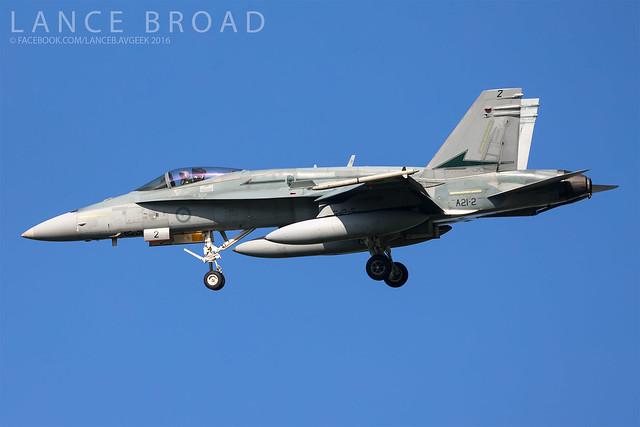 Royal Australian Air Force F/A-18A   A21-2   YAMB