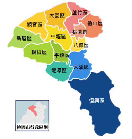 Taoyuan_labelled_map_2014