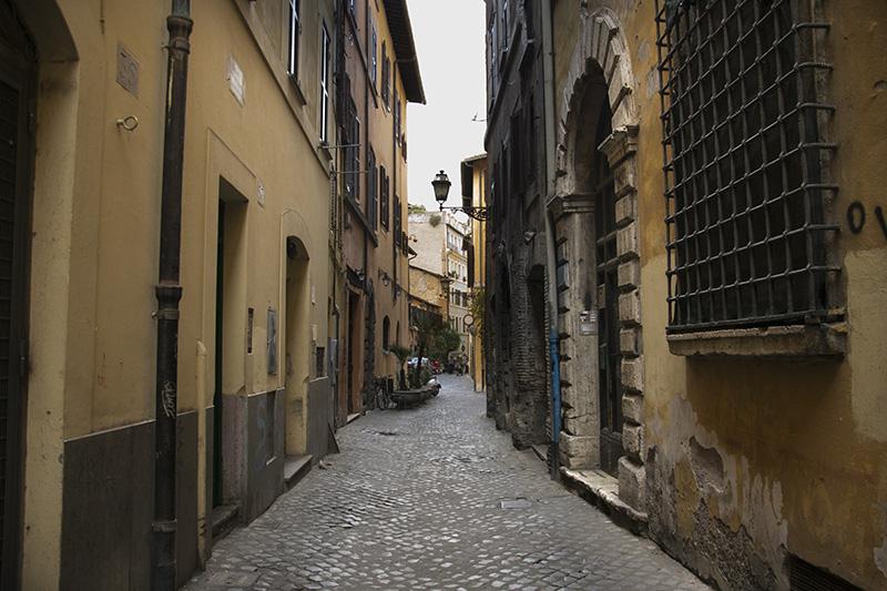 Rome Via dei Cappellari