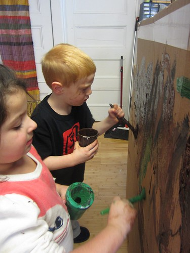 messy painters