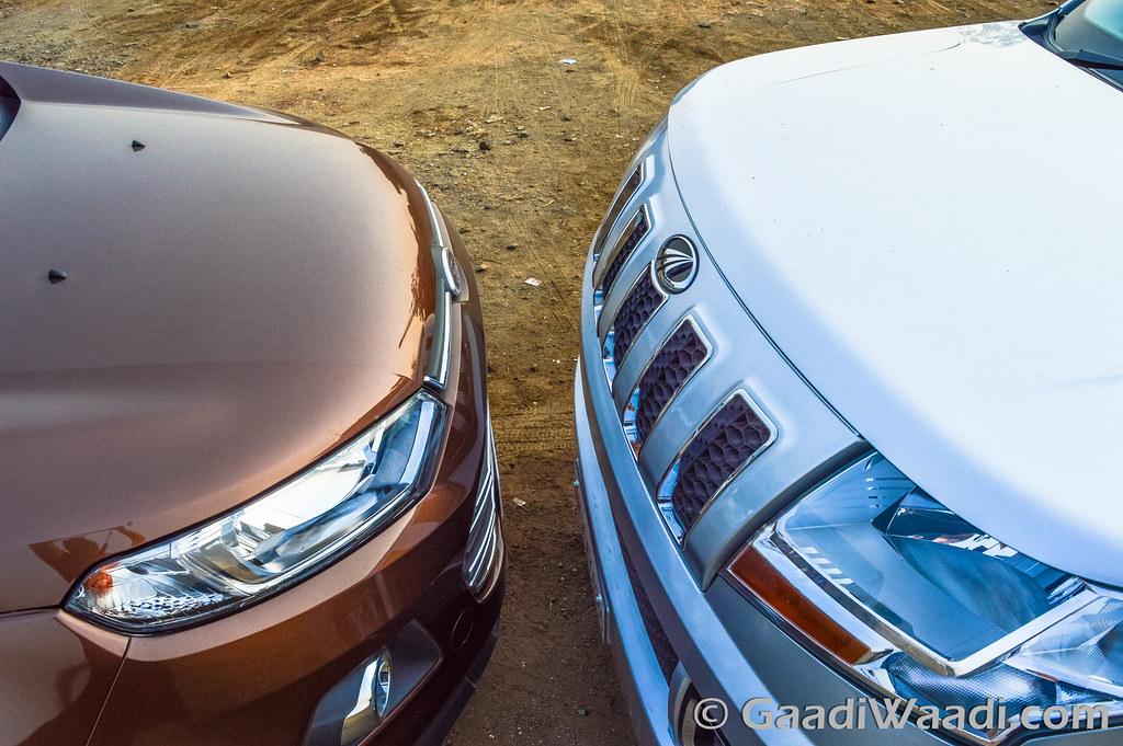 Ford Ecosport vs TUV300-13