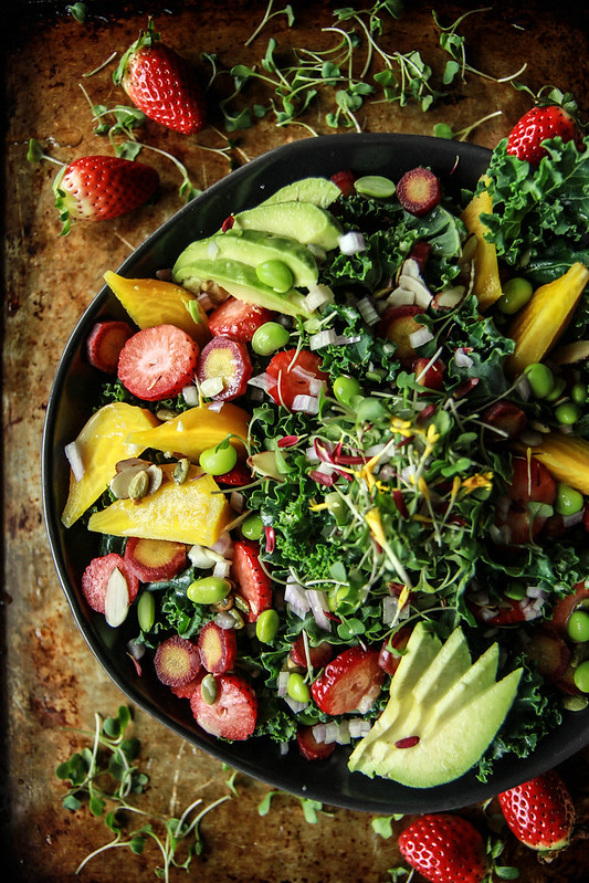 Detox Power Foods Salad