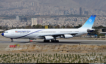 Islamic Republic of Iran A340-300  Meraj Air (Mehrad Watson)