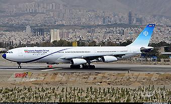 Islamic Republic of Iran A340-300  Meraj Air (Mehrad Watson)