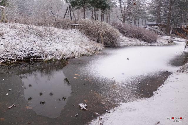 Icing lake