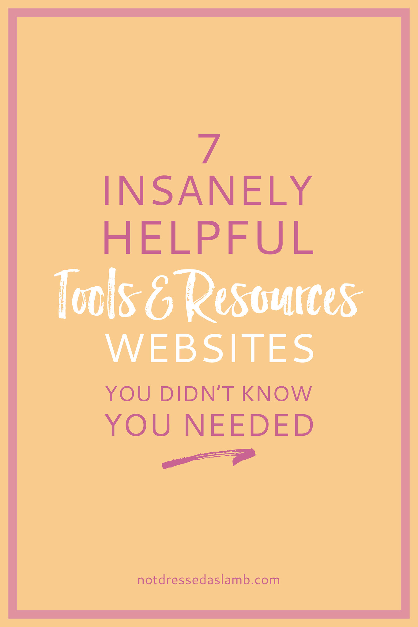 Blogging Tips | 7 Insanely Helpful Tools and Resources Websites You Didn't Know You Needed