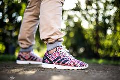 "Adidas Zx Flux ""Color Prism"""