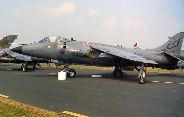 XZ455/715 Sea Harrier FRS.1
